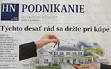 Náš článok v Hospordárskych novinách